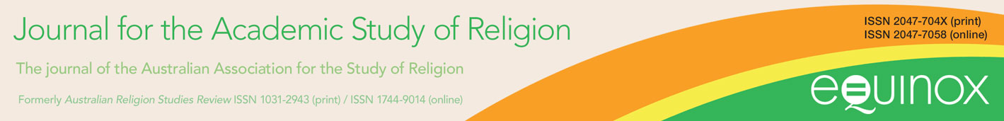 Journal for the Academic Study of Religion