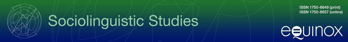 Sociolinguistic Studies