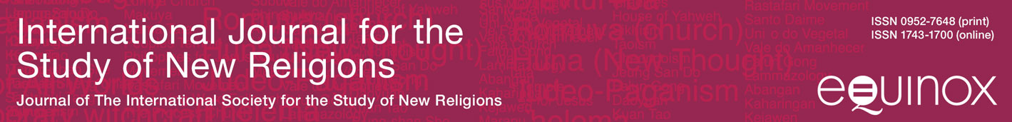 International Journal for the Study of New Religions