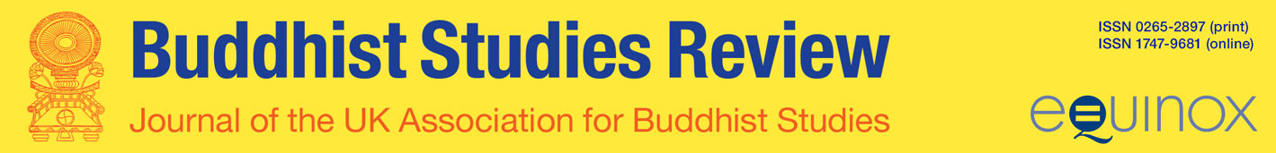Buddhist Studies Review