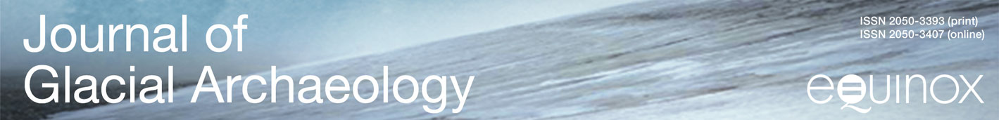 Journal of Glacial Archaeology