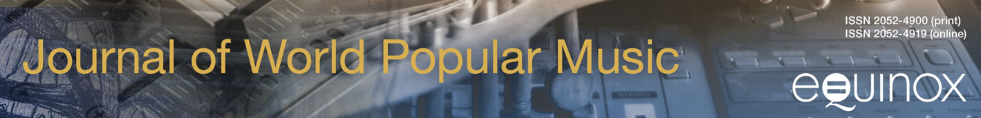 Journal of World Popular Music