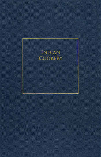 Indian Cookery - Richard Terry