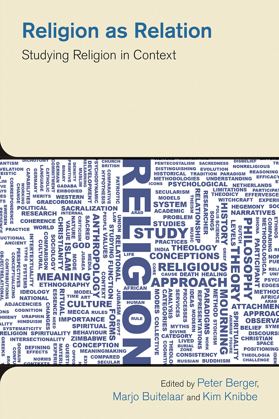 Religion as Relation - Studying Religion in Context - Peter Berger