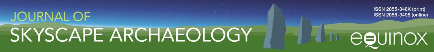 Journal of Skyscape Archaeology